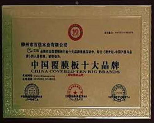 中国覆模板十大品牌